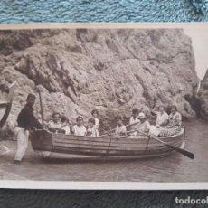 Postales: POSTAL BARCA CON REMOS Y PASAJEROS / SIN USAR / AÑOS 30. Lote 87118572