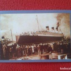 Postales: POSTAL POST CARD THE NOSTALGIA POSTCARD VINTAGE 1936 THE QUEEN MARY SAILS. GLASGOW CLIDEBANK VER FOT. Lote 88110608