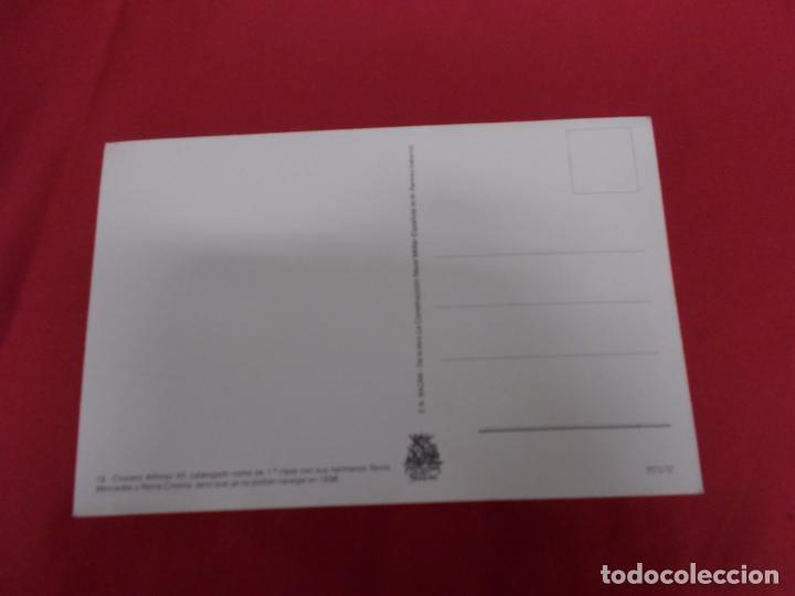 Postales: TARJETA POSTAL. CRUCERO ALFONSO XII. LA CONSTRUCCION NAVAL MILITAR ESPAÑOLA. - Foto 2 - 88990612