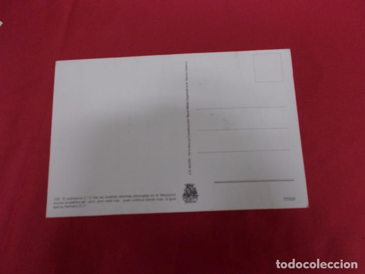 Postales: TARJETA POSTAL. EL SUBMARINO S-22. LA CONSTRUCCION NAVAL MILITAR ESPAÑOLA. - Foto 2 - 88991196