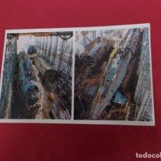 Postales: TARJETA POSTAL. LOS SUBMARIONOS S-71 Y S-72 EN CONSTRUCCIÓN. LA CONSTRUCCION NAVAL MILITAR ESPAÑOLA.. Lote 88993412