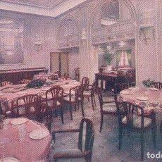 Postales: POSTAL MOTONAVE VILLA DE MADRID - COMEDOR DE PRIMERA CLASE. Lote 89157116