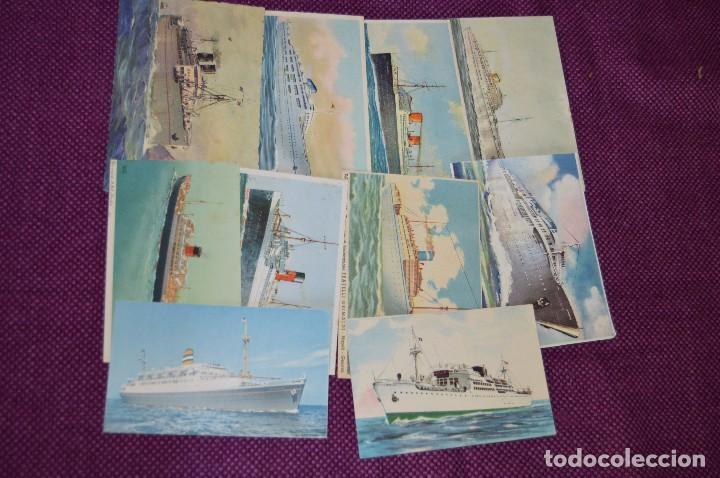 Postales: LOTAZO IMPRESIONANTE - 24 POSTALES SIN CIRCULAR DE BARCOS - POSTALES ANTIGUAS - HAZME OFERTA - Foto 2 - 89543600
