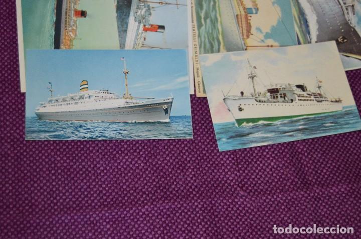 Postales: LOTAZO IMPRESIONANTE - 24 POSTALES SIN CIRCULAR DE BARCOS - POSTALES ANTIGUAS - HAZME OFERTA - Foto 5 - 89543600