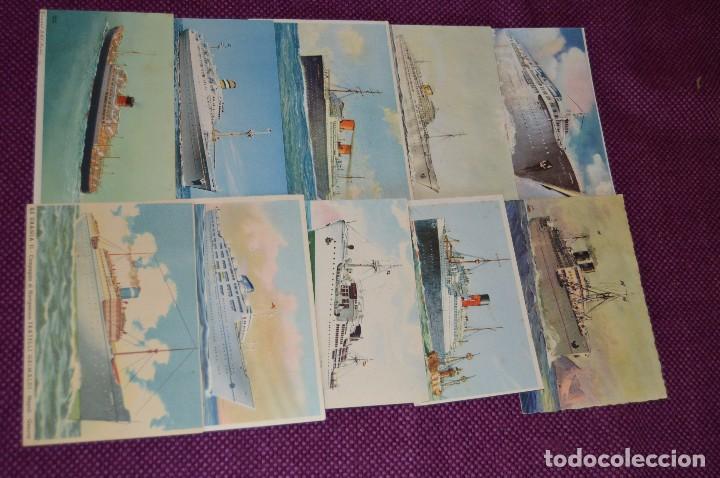 Postales: LOTAZO IMPRESIONANTE - 24 POSTALES SIN CIRCULAR DE BARCOS - POSTALES ANTIGUAS - HAZME OFERTA - Foto 6 - 89543600