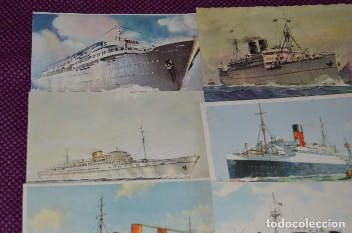 Postales: LOTAZO IMPRESIONANTE - 24 POSTALES SIN CIRCULAR DE BARCOS - POSTALES ANTIGUAS - HAZME OFERTA - Foto 9 - 89543600