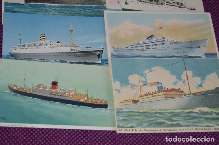 Postales: LOTAZO IMPRESIONANTE - 24 POSTALES SIN CIRCULAR DE BARCOS - POSTALES ANTIGUAS - HAZME OFERTA - Foto 10 - 89543600
