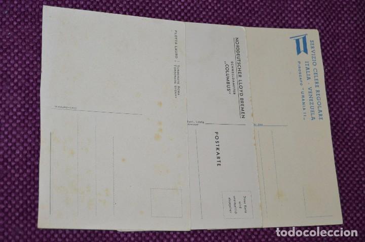 Postales: LOTAZO IMPRESIONANTE - 24 POSTALES SIN CIRCULAR DE BARCOS - POSTALES ANTIGUAS - HAZME OFERTA - Foto 12 - 89543600
