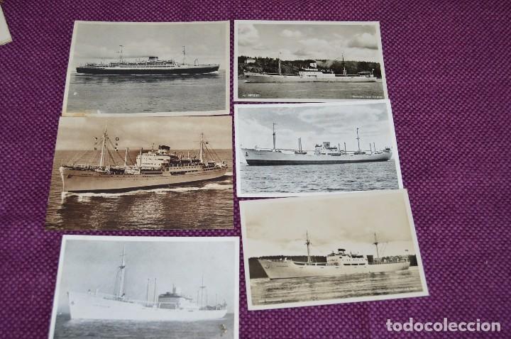 Postales: LOTAZO IMPRESIONANTE - 24 POSTALES SIN CIRCULAR DE BARCOS - POSTALES ANTIGUAS - HAZME OFERTA - Foto 14 - 89543600