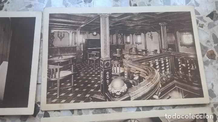 Postales: COLECCIÓN DE 5 POSTALES, COMPAÑÍA TRASMEDITERRANEA, VAPOR TEIDE, SIN CIRCULAR - Foto 4 - 90085832