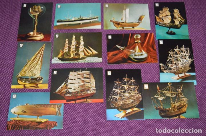 LOTE DE 12 ANTIGUAS POSTALES DE BARCOS Y SUBMARINOS - SIN CIRCULAR - MUY BONITAS - HAZME OFERTA (Postales - Postales Temáticas - Barcos)