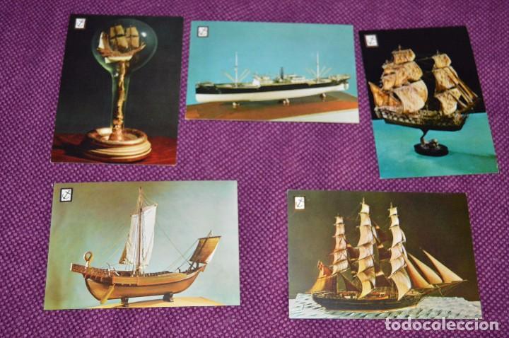 Postales: LOTE DE 12 ANTIGUAS POSTALES DE BARCOS Y SUBMARINOS - SIN CIRCULAR - MUY BONITAS - HAZME OFERTA - Foto 2 - 90423009