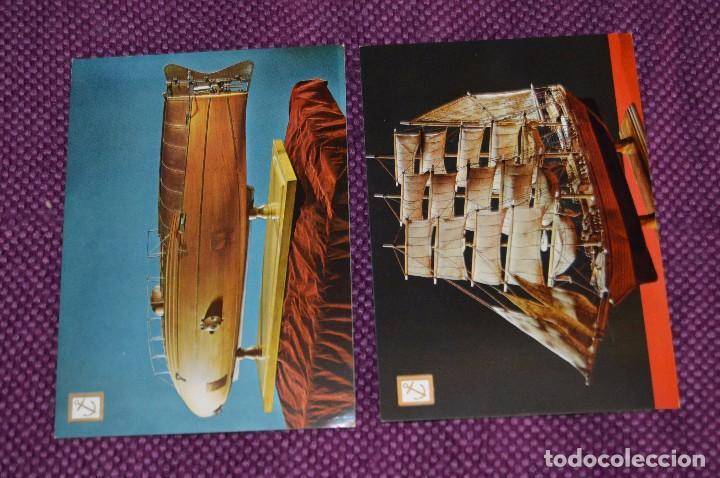 Postales: LOTE DE 12 ANTIGUAS POSTALES DE BARCOS Y SUBMARINOS - SIN CIRCULAR - MUY BONITAS - HAZME OFERTA - Foto 6 - 90423009