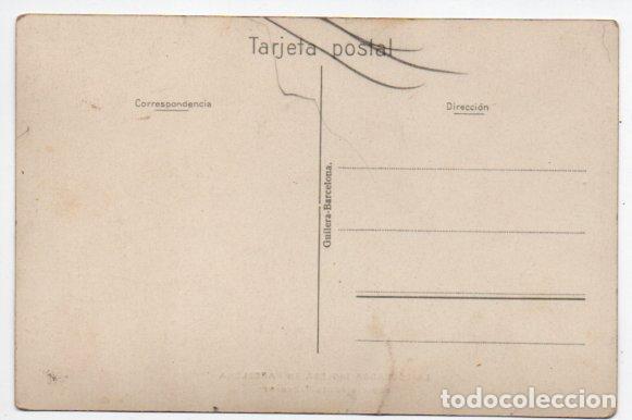 Postales: POSTAL FOTOGRÁFICA BUQUE DEPÓSITO ADAMANT - LA ESCUADRA INGLESA EN BARCELONA - Foto 2 - 91839155