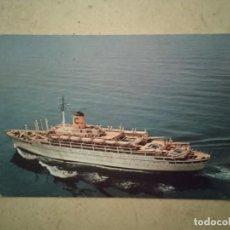 Postales: ANTIGUA POSTAL -10*15- BARCO T N FEDERICO C - ALBUM - AÑO 1964 - ITALIA - BUQUE. Lote 93313845