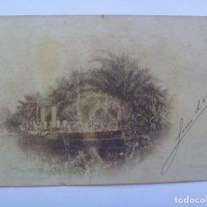 Postales: POSTAL DEL BARCO EXTREMADURA , ESCRITA A UN MARQUES GENERAL DE LA MARINA, PRINCIPIOS DE SIGLO. Lote 93685565