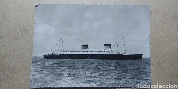 POSTAL COMPAGNIE GENERALE TRANSATLANTIQUE 1954. (Postales - Postales Temáticas - Barcos)