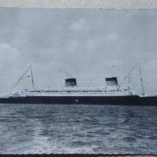 Postales: POSTAL COMPAGNIE GENERALE TRANSATLANTIQUE 1954.. Lote 93715478