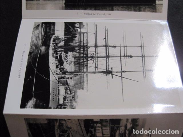Postales: POSTALES - ACORDEON 10 POSTALES FOTOGRAFICAS - MARINA GUERRA GALATEA - VIAJE AÑO 1936 - (V- 11.847) - Foto 3 - 94029340