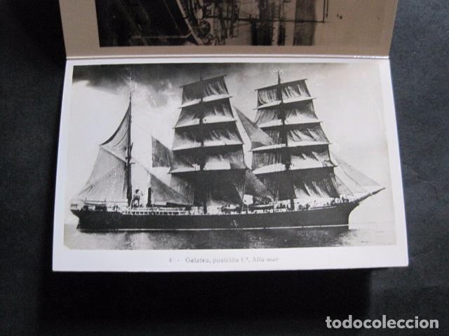 Postales: POSTALES - ACORDEON 10 POSTALES FOTOGRAFICAS - MARINA GUERRA GALATEA - VIAJE AÑO 1936 - (V- 11.847) - Foto 5 - 94029340