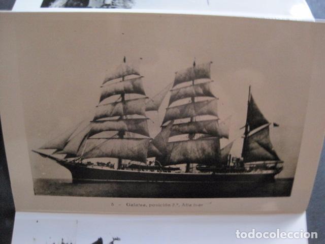 Postales: POSTALES - ACORDEON 10 POSTALES FOTOGRAFICAS - MARINA GUERRA GALATEA - VIAJE AÑO 1936 - (V- 11.847) - Foto 6 - 94029340