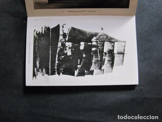 Postales: POSTALES - ACORDEON 10 POSTALES FOTOGRAFICAS - MARINA GUERRA GALATEA - VIAJE AÑO 1936 - (V- 11.847) - Foto 7 - 94029340