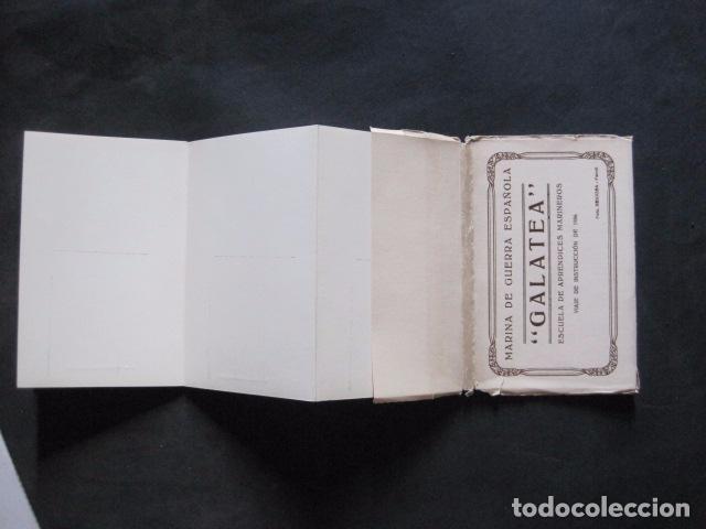 Postales: POSTALES - ACORDEON 10 POSTALES FOTOGRAFICAS - MARINA GUERRA GALATEA - VIAJE AÑO 1936 - (V- 11.847) - Foto 13 - 94029340