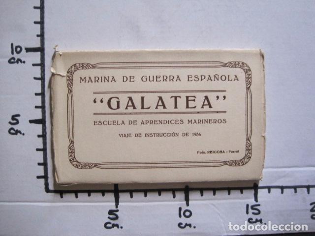Postales: POSTALES - ACORDEON 10 POSTALES FOTOGRAFICAS - MARINA GUERRA GALATEA - VIAJE AÑO 1936 - (V- 11.847) - Foto 14 - 94029340