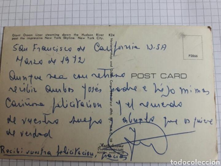 Postales: Postal circulada buque en Manhattan - Foto 2 - 94338962