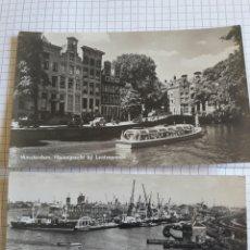 Postales: LOTE 2 POSTALES AMSTERDAM . Lote 94374824