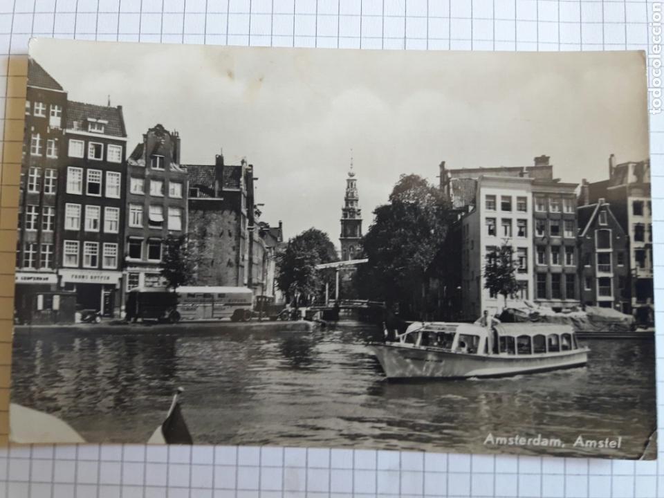 ANTIGUA POSTAL CIRCULADA 1957 (Postales - Postales Temáticas - Barcos)