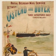 Postales: CPM. ROYAL BELGIAN MAIL SERVICE. BARCO . Lote 97952083