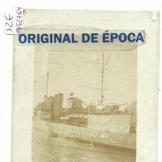 Postales: (PS-52764)POSTAL FOTOGRAFICA BUQUE DE GUERRA. Lote 98006095