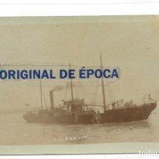 Postales: (PS-52763)POSTAL FOTOGRAFICA BARCO S.S.BERLIN. Lote 98006175