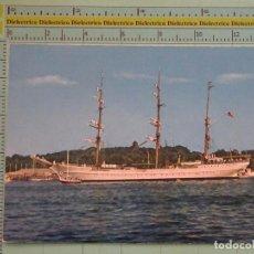 Postales: POSTAL DE BARCOS NAVIERAS. BARCO BUQUE VELERO EAGLE PUERTO DE TRAVEMÜNDE, ALEMANIA. 1105. Lote 98516235