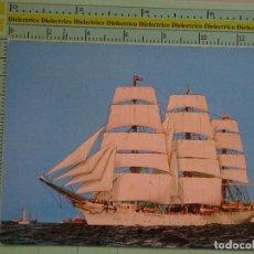 Postales: POSTAL DE BARCOS NAVIERAS. BARCO BUQUE VELERO DAR POMORZA, POLONIA. 1108. Lote 98516291