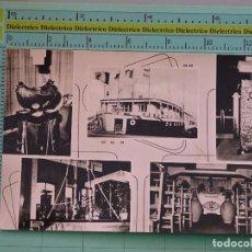 Postales: POSTAL DE BARCOS NAVIERAS. BARCO BUQUE KERKSCHIP. AMBERES, BÉLGICA. 1113. Lote 98516355