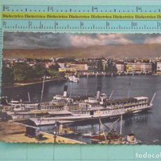 Postales: POSTAL DE BARCOS NAVIERAS. BARCO BUQUE MONTREUX DE GINEBRA, SUIZA. 1118. Lote 98516387