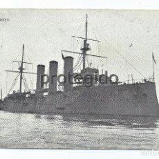 Postales: POSTAL H.M.S. ESSEX. AÑO 1904.. Lote 98574143