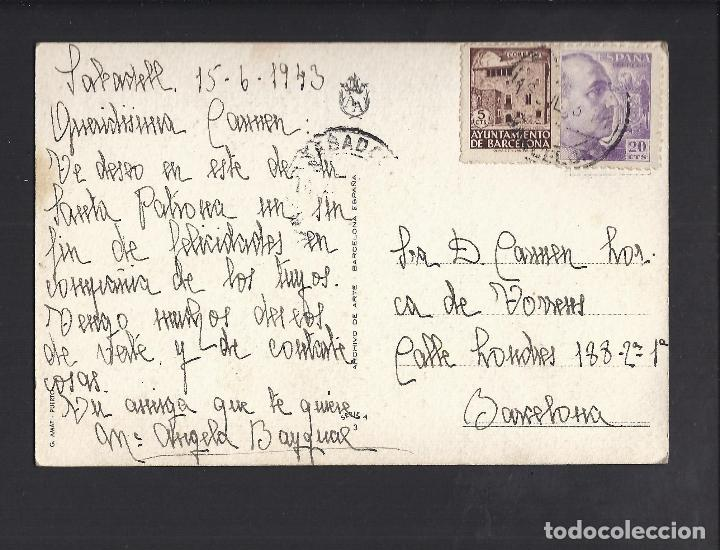Postales: Postal barcos. Circulada - Foto 2 - 99160415