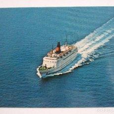 Postales: POSTAL BARCO - DFDS SEAWAYS - M.S. DANA CORONA - GENOVA - SIN CIRCULAR. Lote 100447891