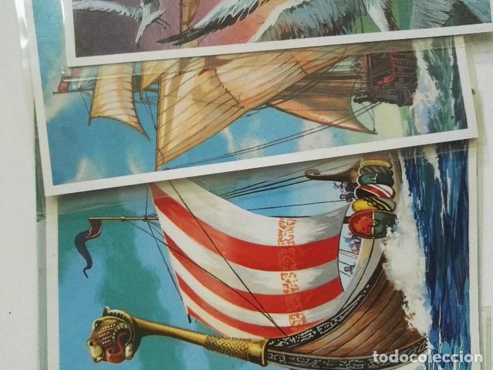 Postales: Lote de 12 postales de Barcos en color - Foto 2 - 101411259
