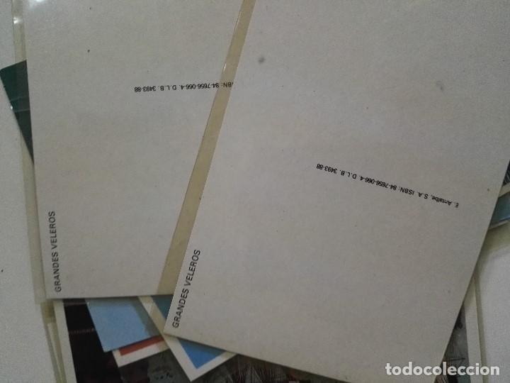 Postales: Lote de 12 postales de Barcos en color - Foto 3 - 101411259