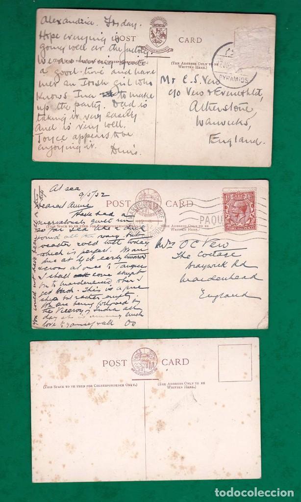 Postales: lote de 3 postales antiguas barco P & O - Foto 2 - 101526359