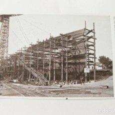 Postales: POSTAL DEL ASTILLERO DE LA SOCIEDAD ESPAÑOLA DE CONSTRUCCION NAVAL - BOTADURA ACORAZADO ALFONSO XIII. Lote 103704647