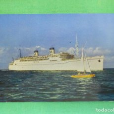Postales: POSTAL - BARCOS - S.S LOURLINE - HAWAI - MIKE ROBERTS - NE - NC. Lote 103803651