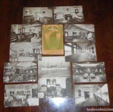 Postales: 12 POSTALES DEL BARCO MOTONAVE CIUDAD DE ALICANTE, COMPAÑIA TRANSMEDITERRANEA, NO CIRCULADAS.. Lote 104736727