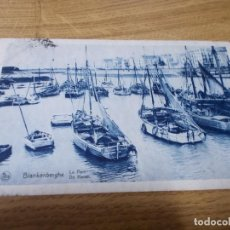 Postales: BLANKENBERGHE. LE PORT DE HAVEN.. CIRCULADA . Lote 106755851