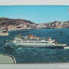 Postales: POSTAL DE CEUTA : TRANSBORDADOR VIRGEN DE AFRICA . AÑOS 60. Lote 107867959
