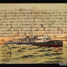 Postales: MARINA ESPAÑOLA FERROL OSADO ANTIGUA POSTAL ORIGINAL ED. EL CORREO GALLEGO . Lote 108415967